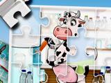 Детская Веселая Ферма: Пазл