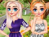 Эльза и Анна: Уход за Садом