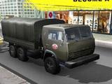 Грузовики: Водитель Русского Камаза 3Д