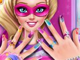 Маникюр для Супер Барби