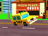 Пиксельное Такси