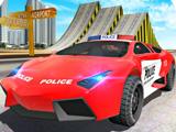 Трюки на Полицейских Машинах