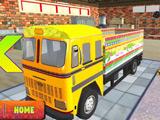 Водитель Индийского Грузовика 3Д