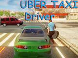 Водитель Убер Такси 3Д
