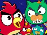 Злые Птички и Коты Мяу