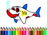 Книга Раскрасок Акулы