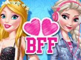 Барби и Эльза Подруги