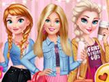 Барби Встречается с Принцессами