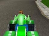 Бен 10 Гонка на Квадроцикле 3Д