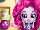 Пинки Пай Убирает в Комнате