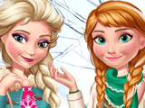 Зимняя Мода Эльзы и Анны