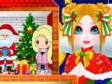 Новогодний Кукольный Домик Принцесс