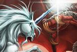 Единорог и Дракон – Пазл
