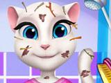 Игр Грязная Кошка Анжела