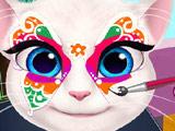 Рисуем на Лице Анжелы