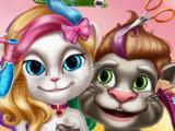 Реальные Прически Тома и Анжелы