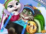 Том, Анжела и Рыжик на Курорте
