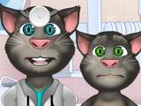 Говорящий Том в Офтальмолога