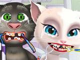 Анжела и Том Лечат Зубы