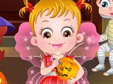 Малышка Хейзел в Хэллоуин