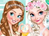 Эльза и Анна Подружки Невесты
