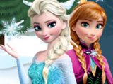 Эльза и Анна на Коньках