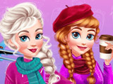 Зимний Побег Анны и Эльзы