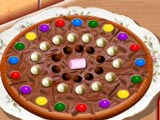 Шоколадная Пицца от Сары