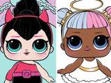 Раскраска Куклы Лол: Сахарок