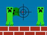 Майнкрафт: Стреляй Криперов