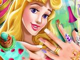 Маникюр для Принцессы Авроры