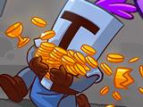 Ловкий Рыцарь и Монеты