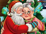 Поцелуи Санта Клауса