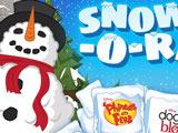 Новый Год: Слепи Снеговика
