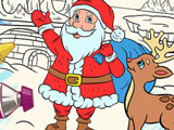 Рождественская Раскраска