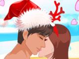 Рождественский Поцелуй На Пляже