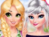 Цветочная Мода Эльзы и Рапунцель