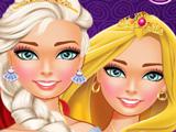 Принцессы Диснея: Салон Макияжа