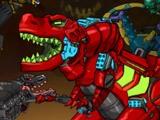 Роботы Динозавры: Шахта