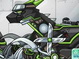Робот Ниндзя Велоцираптор