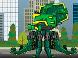Роботы Динозавры: Древний Осьминог