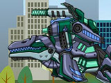 Роботы Динозавры: Мозазавр