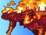 Огненный Тираннозавр