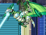 Роботы Динозавры: Зелёный Птерандон