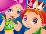 Принц и Принцесса Русалок