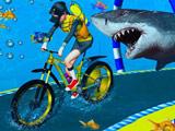 Подводная Езда на Велосипеде