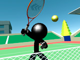 Теннис Стикмена 3Д