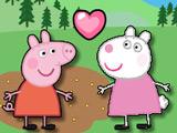 Свинка Пеппа: Дружеский Поцелуй