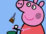 Свинка Пеппа: Раскраска