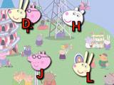 Свинка Пеппа: Набор Букв